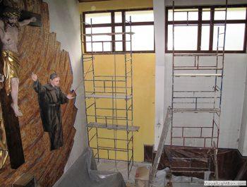 Prace remontowe w kościele – już rozpoczęte 9