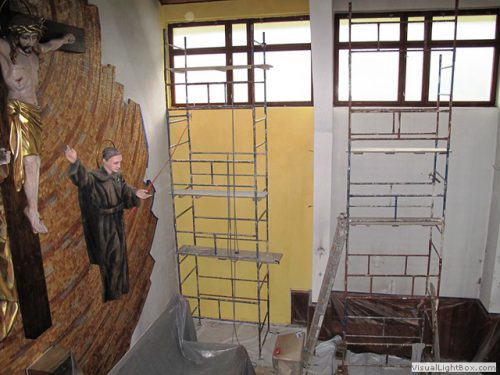 Prace remontowe w kościele – już rozpoczęte