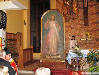 Nawiedzenie obrazu Jezusa Miłosiernego i relikwii św. Jana Pawła II i św. s. Faustyny