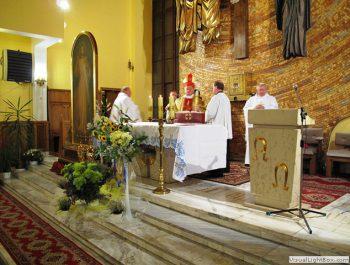 Nawiedzenie obrazu Jezusa Miłosiernego i relikwii św. Jana Pawła II i św. s. Faustyny 21