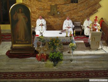 Nawiedzenie obrazu Jezusa Miłosiernego i relikwii św. Jana Pawła II i św. s. Faustyny 29