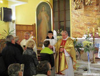 Nawiedzenie obrazu Jezusa Miłosiernego i relikwii św. Jana Pawła II i św. s. Faustyny 32