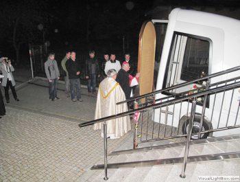 Nawiedzenie obrazu Jezusa Miłosiernego i relikwii św. Jana Pawła II i św. s. Faustyny 4