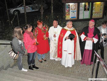 Nawiedzenie obrazu Jezusa Miłosiernego i relikwii św. Jana Pawła II i św. s. Faustyny 6
