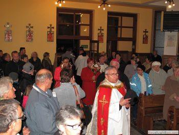 Nawiedzenie obrazu Jezusa Miłosiernego i relikwii św. Jana Pawła II i św. s. Faustyny 8