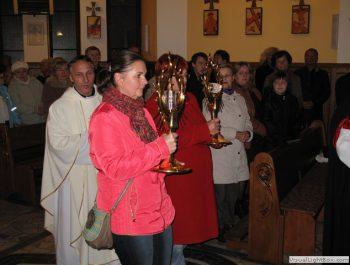 Nawiedzenie obrazu Jezusa Miłosiernego i relikwii św. Jana Pawła II i św. s. Faustyny 9