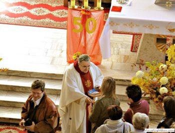 Odpust parafialny 50-lecie kapłaństwa o.Leonarda 10