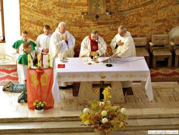 Odpust parafialny 50-lecie kapłaństwa o.Leonarda 6