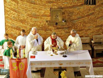 Odpust parafialny 50-lecie kapłaństwa o.Leonarda
