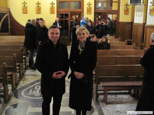 Uroczystość św. Bożej Rodzicielki Maryi – wizyta Prezydenta RP w naszym kościele
