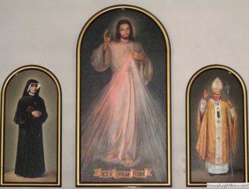 Poświęcenie Tryptyku Miłosierdzia Bożego