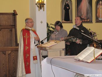 Wizytacja kanoniczna Ks. Biskupa i bierzmowanie młodzieży Biskupa 1
