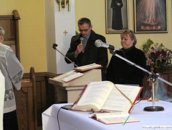 Wizytacja kanoniczna Ks. Biskupa i bierzmowanie młodzieży Biskupa 12