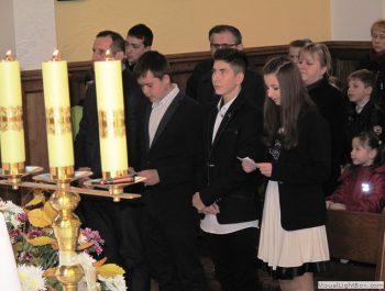 Wizytacja kanoniczna Ks. Biskupa i bierzmowanie młodzieży Biskupa 21