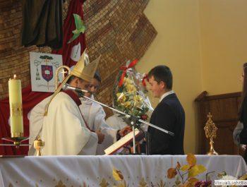 Wizytacja kanoniczna Ks. Biskupa i bierzmowanie młodzieży Biskupa 33
