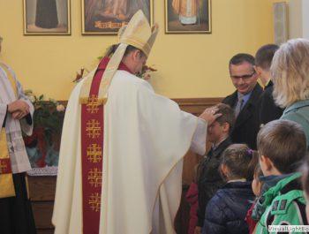 Wizytacja kanoniczna Ks. Biskupa i bierzmowanie młodzieży Biskupa 34