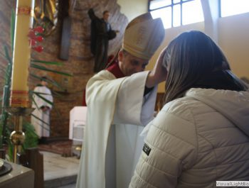 Wizytacja kanoniczna Ks. Biskupa i bierzmowanie młodzieży Biskupa 36
