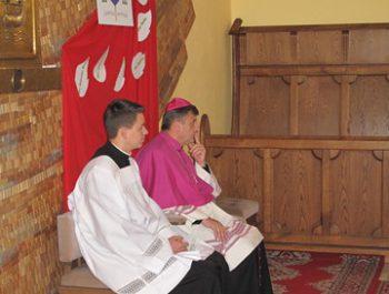 Wizytacja kanoniczna Ks. Biskupa i bierzmowanie młodzieży Biskupa 5