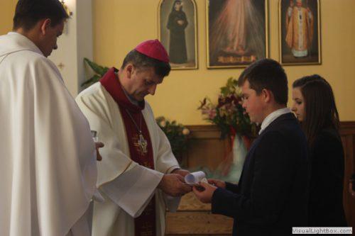 Wizytacja kanoniczna Ks. Biskupa Bielsko-Żywieckiego i bierzmowanie młodzieży