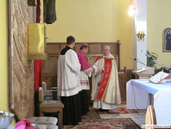 Wizytacja kanoniczna Ks. Biskupa i bierzmowanie młodzieży Biskupa 6