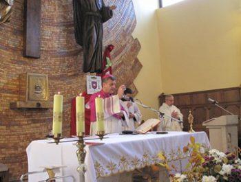 Wizytacja kanoniczna Ks. Biskupa i bierzmowanie młodzieży Biskupa 9