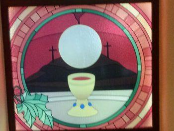 Kolejna praca remontowa za nami … Witraże w prezbiterium 8