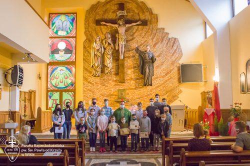 Msza święta na zakończenie roku szkolnego