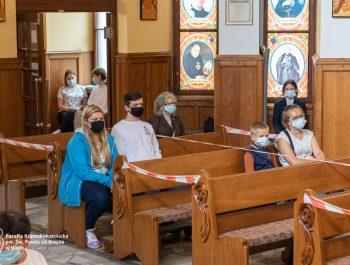 Msza święta na zakończenie roku szkolnego 2020/21 2