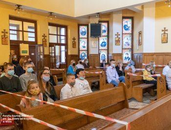 Msza święta na zakończenie roku szkolnego 2020/21 17