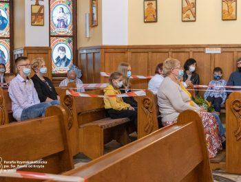 Msza święta na zakończenie roku szkolnego 2020/21 19