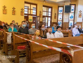 Msza święta na zakończenie roku szkolnego 2020/21 20