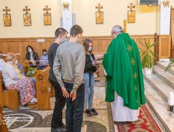 Msza święta na zakończenie roku szkolnego 2020/21 29