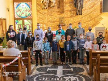 Msza święta na zakończenie roku szkolnego 2020/21 65