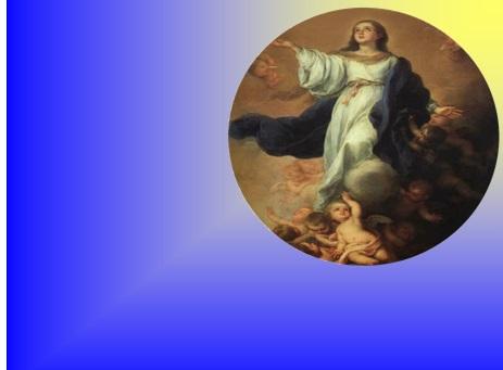 NOWENNA PRZED UROCZYSTOŚCIĄ Wniebowzięcia Najświętszej Maryi Panny Patronki Polskiej Prowincji Pasjonistów